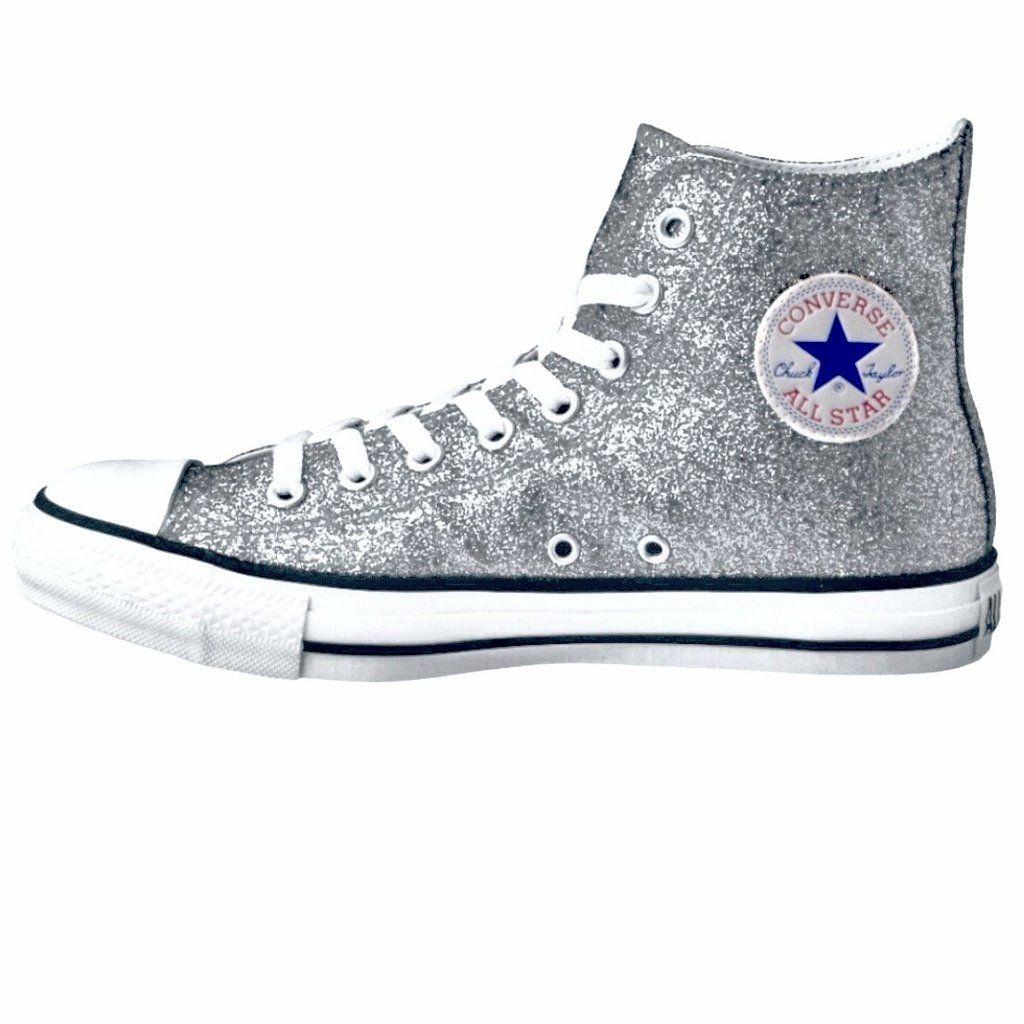 Women's Sparkly Glitter Converse All