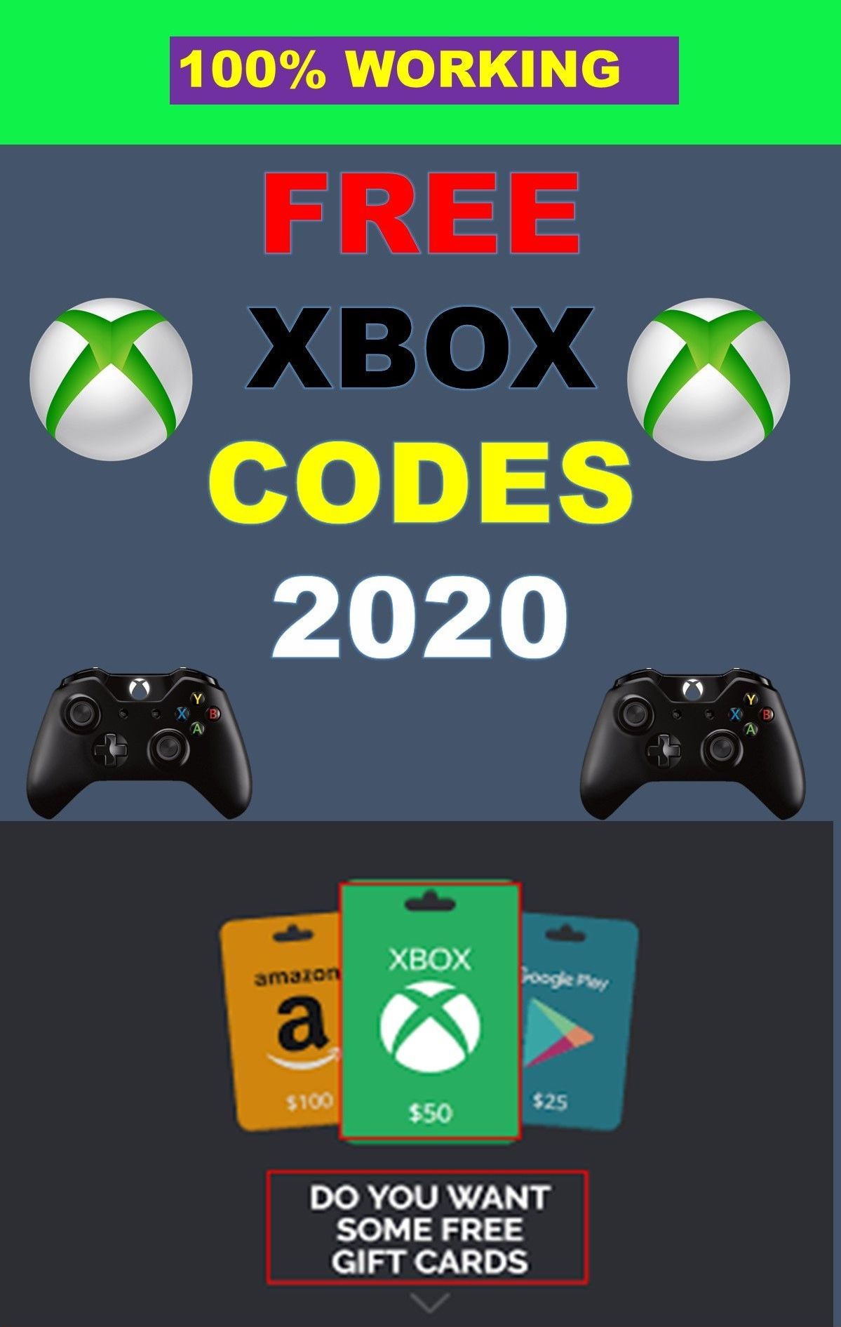 $50 Xbox Gift Card Code Free References