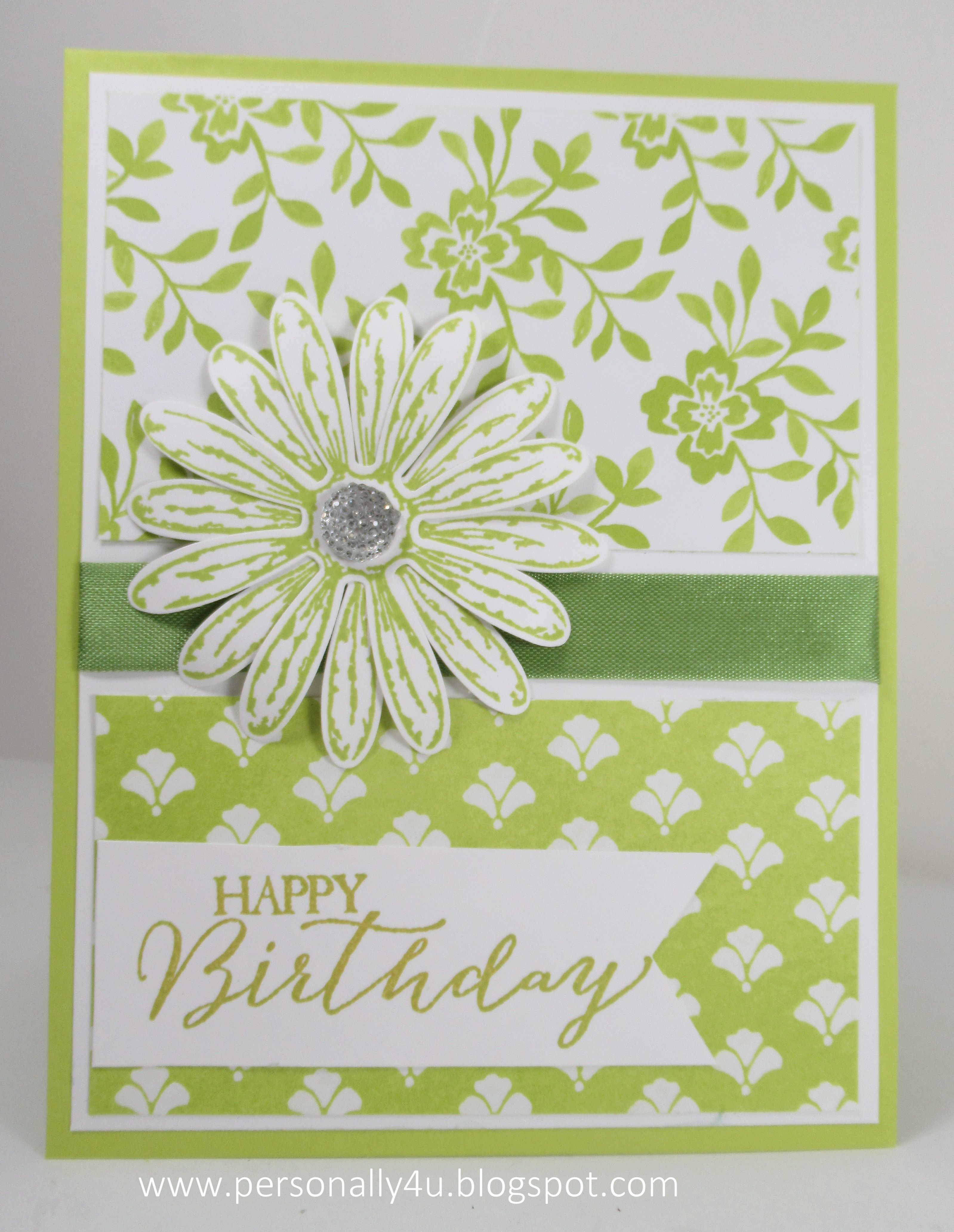 Daisy Delight - Lemon lime Twist Daisy and Fresh Florals DSP