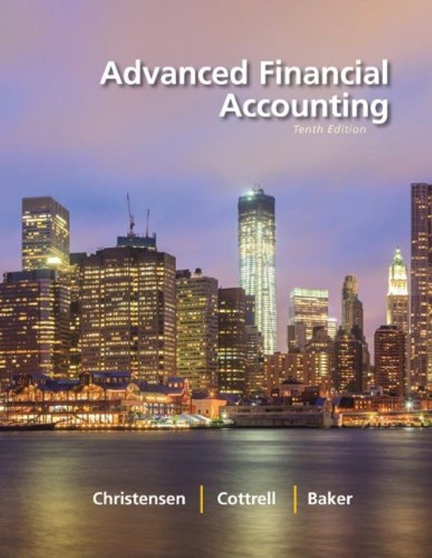 Advanced Financial Accounting 10th editionISBN: 0078025621,  9780078025624EBook in PDF Format — Will be Available