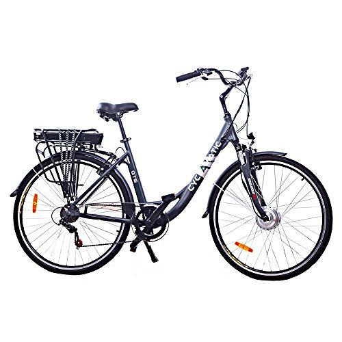 Cyclamatic Gte Pro Stepthrough Electric Bike With Lithiumion Battery