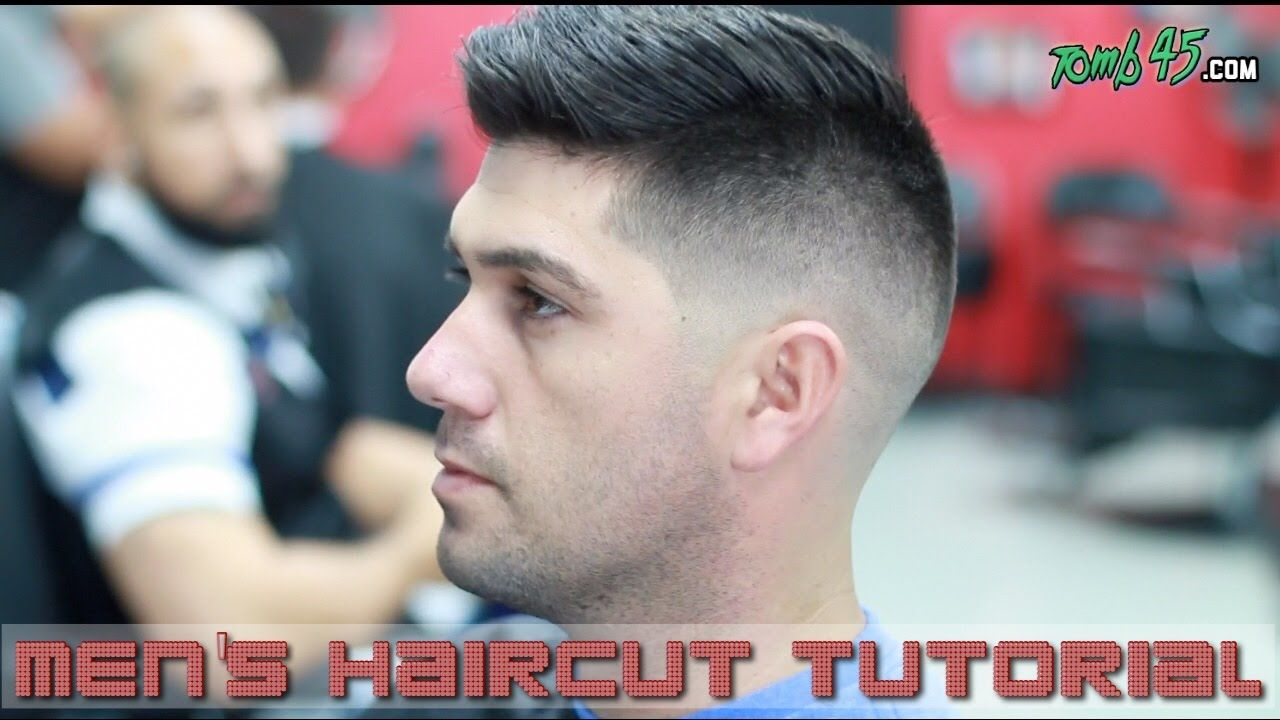 Fading & Styling Thick Hair like Sergio Aguero! Barber ...