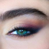 Photo of Eye Oblique Makeup Although there are a million types of eye shapes …