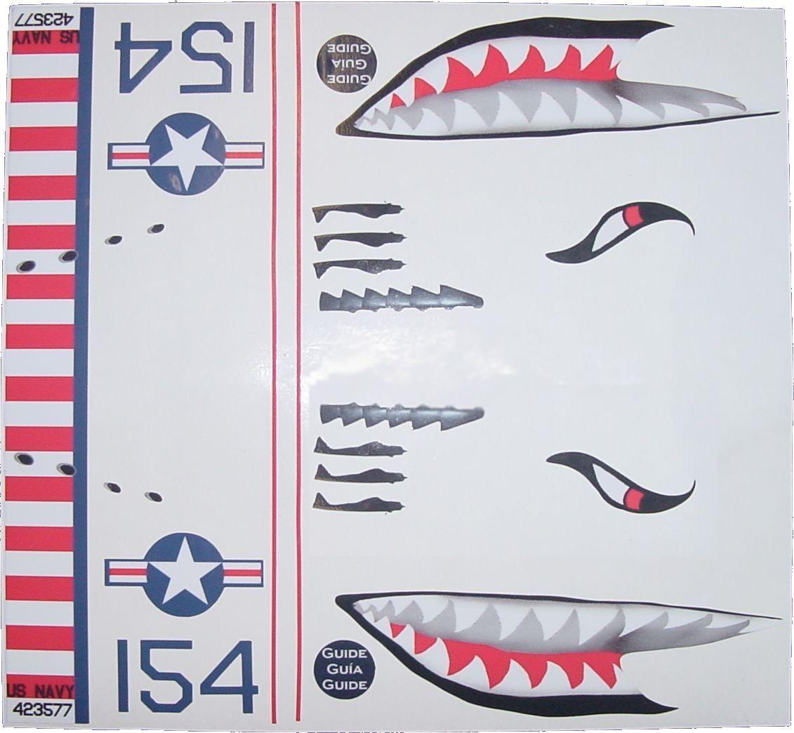 Ka mixer cover kit flying tiger shark plane