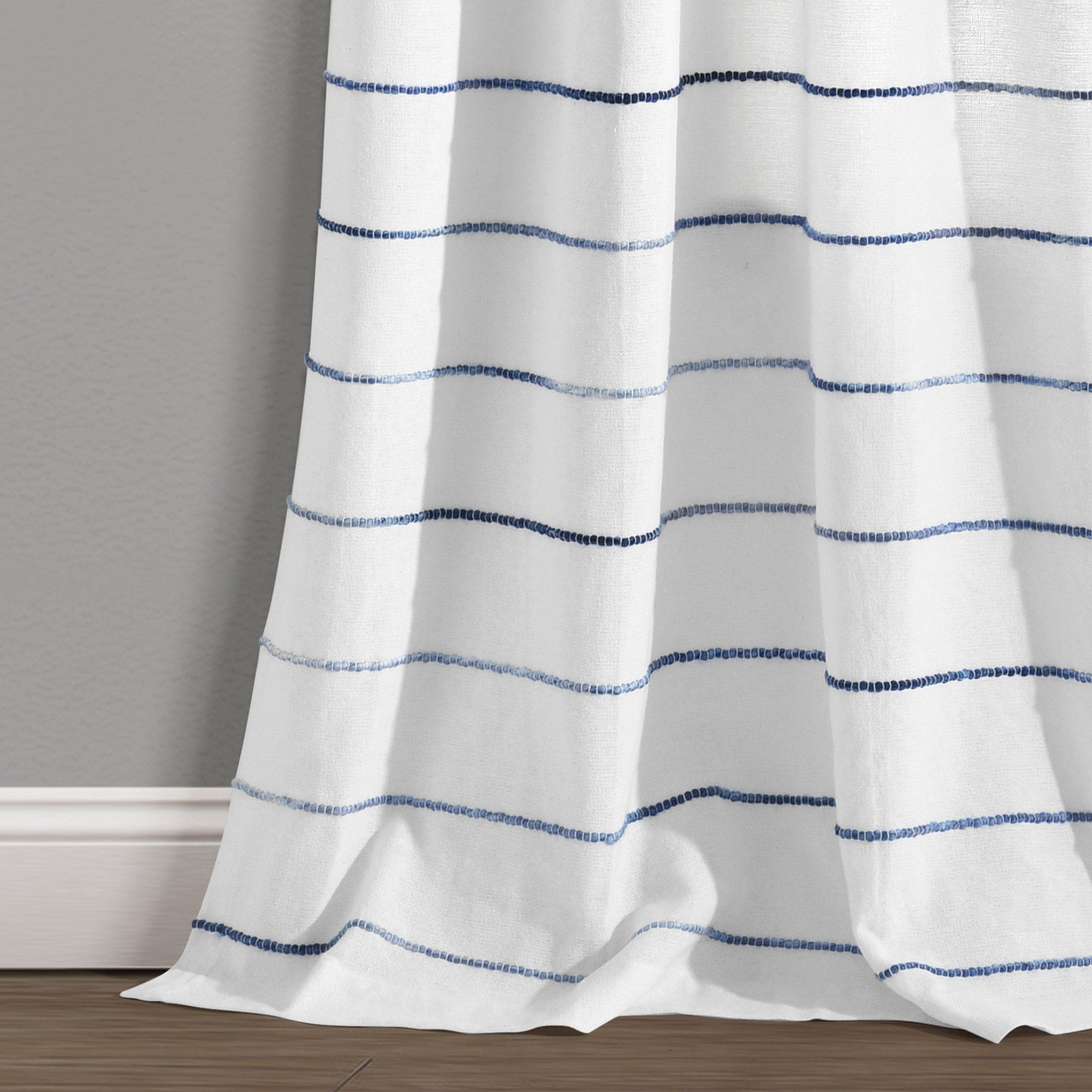 ombre stripe yarn dyed cotton window
