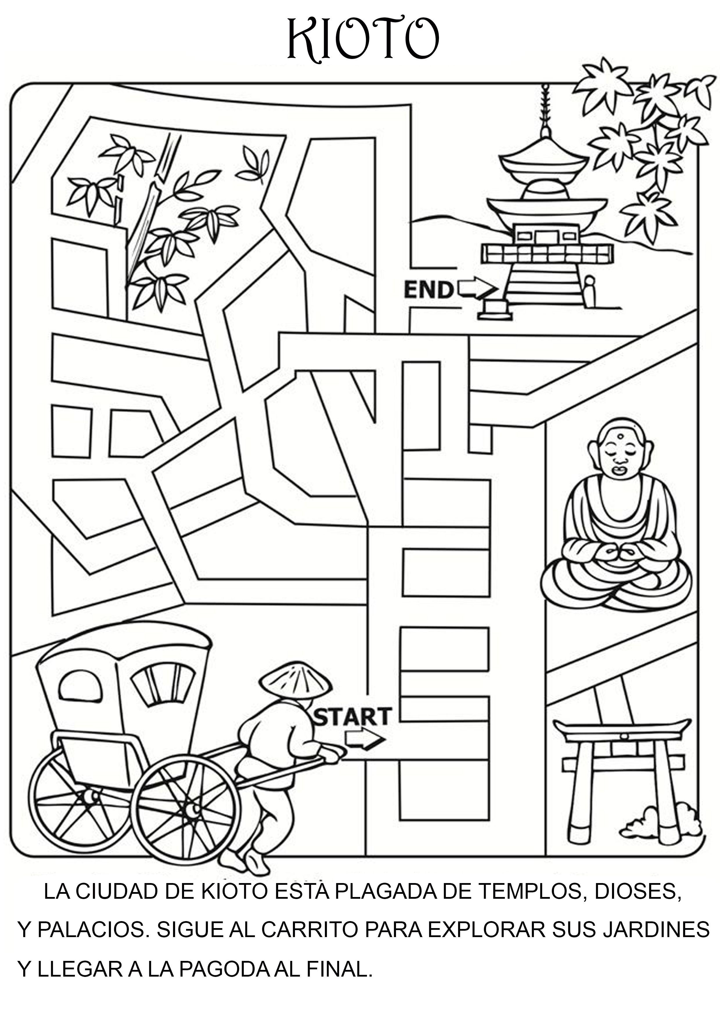 Laberinto Kioto