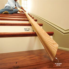 Best Install A New Stair Handrail Stair Handrail Interior 400 x 300