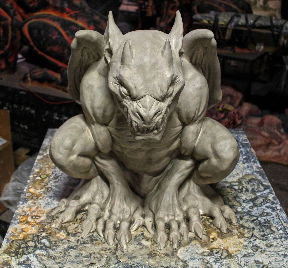 Distortions Unlimited Gothic Gargoyle Ver. 2 by LeeJoyner on deviantART