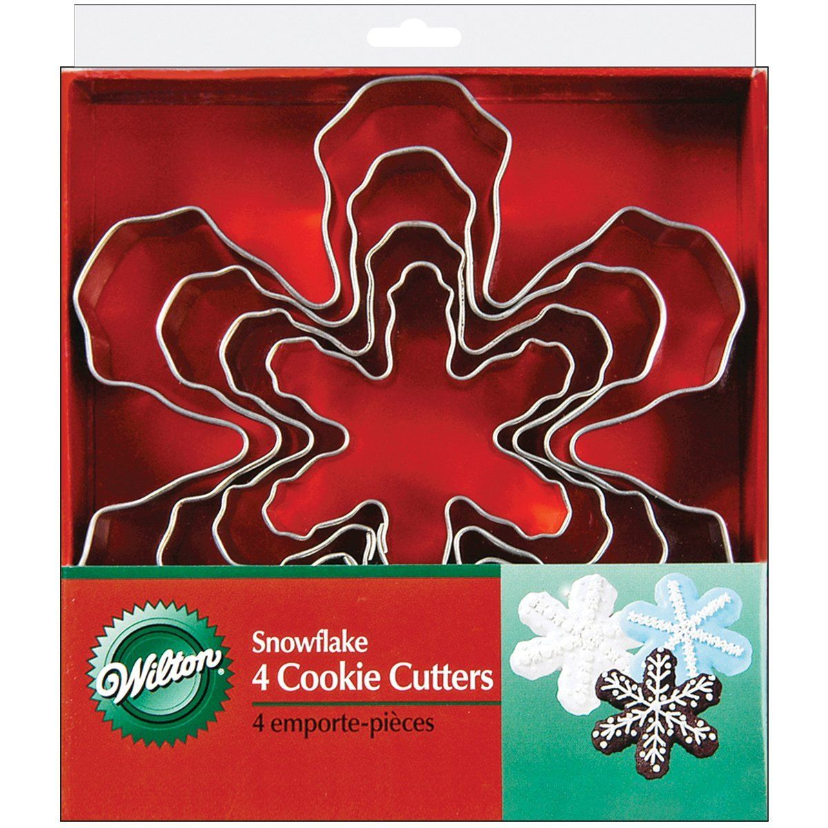 Nesting Metal Cookie Cutters 4/Pkg-Snowflake *** Hurry! Check out this great item : Baking Accessories