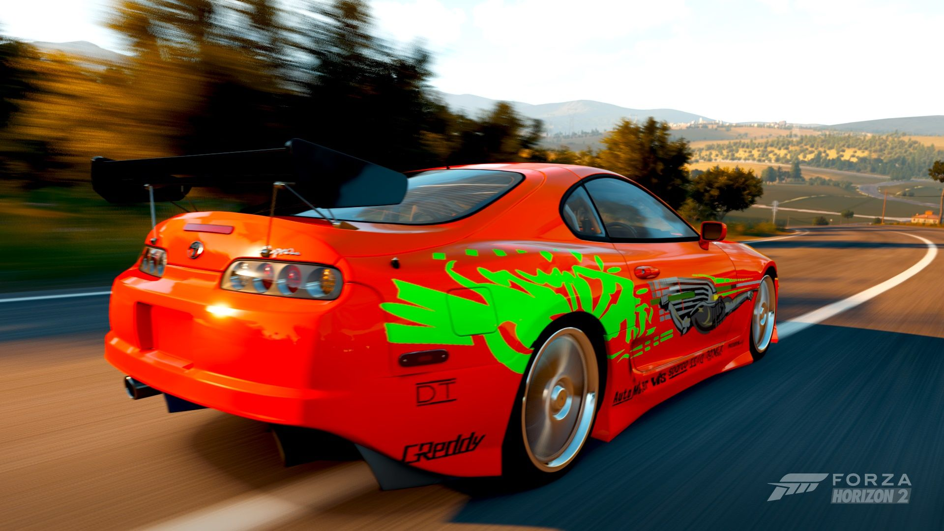 Paul Walkeru0027s Hero Supra In Fu0026F #forza