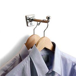 Chrome Garment Hooks