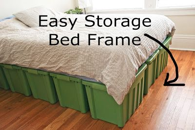 A Rubbermaid Bed Frame Box Bed Frame Bed Frame With Storage