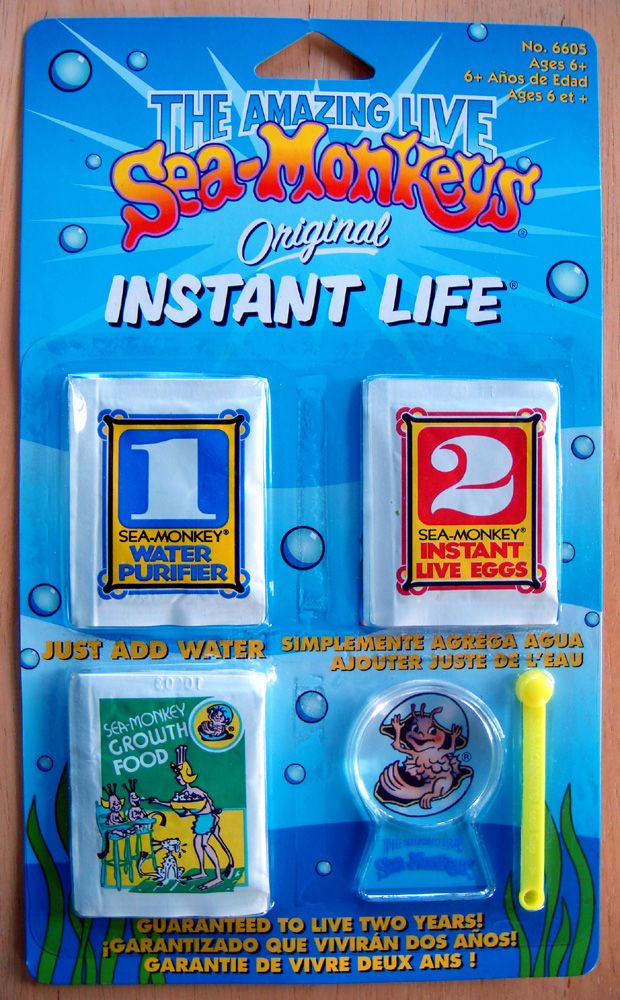 Loved These As A Child Sea Monkeys Instant Life Monkey Food