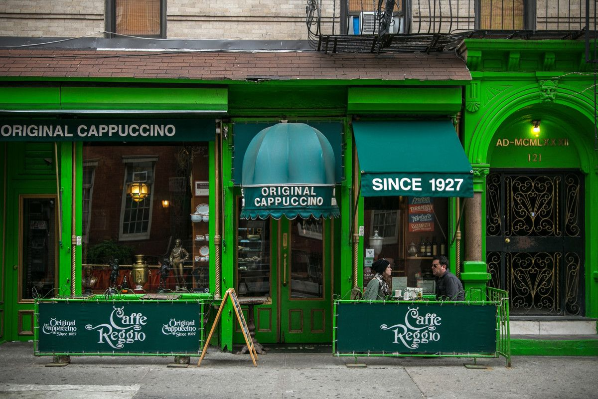 This coffee shop is more like a time capsule Greenwich