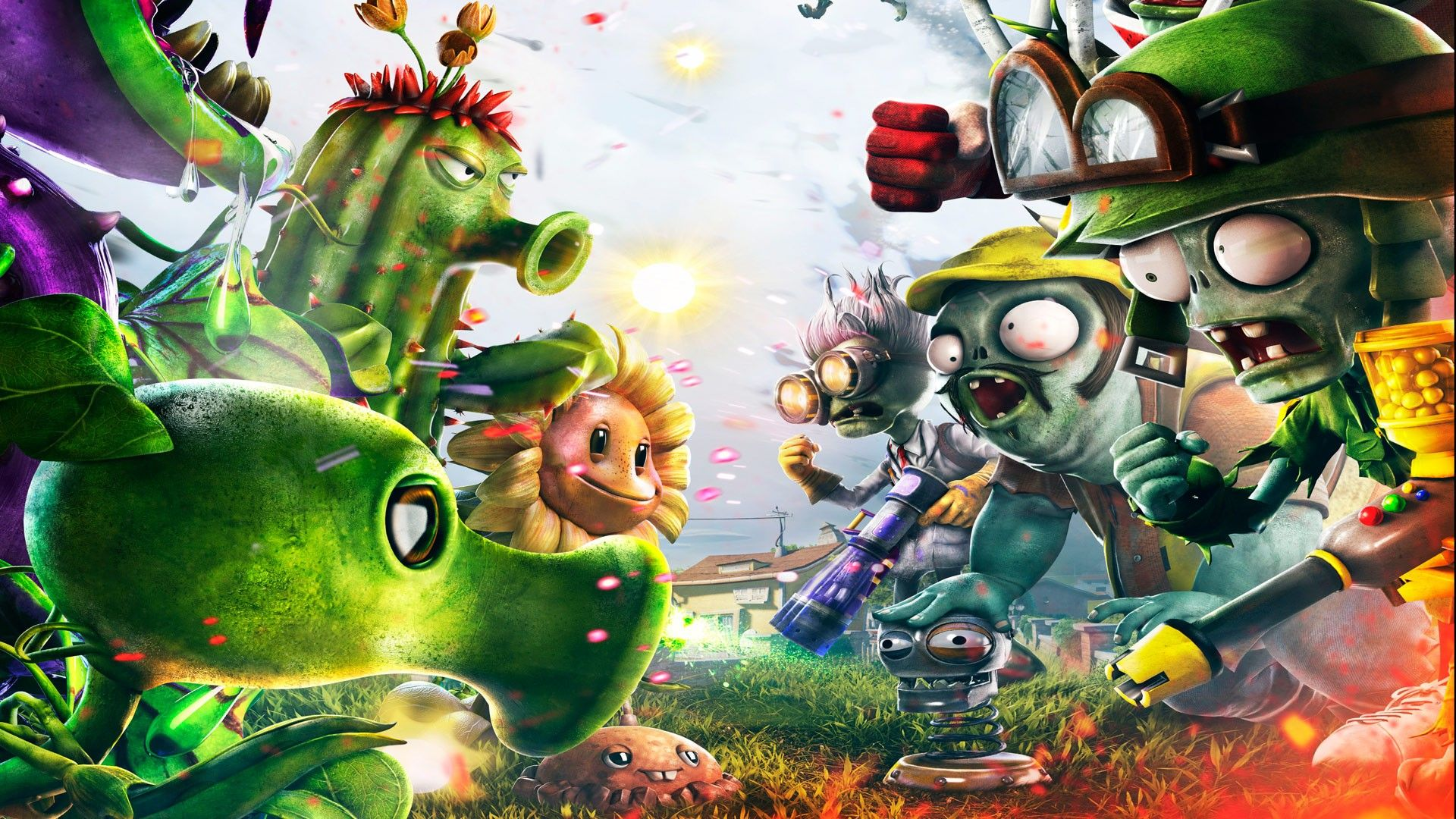 Plants Vs Zombies Garden Warfare Computer Wallpapers Desktop