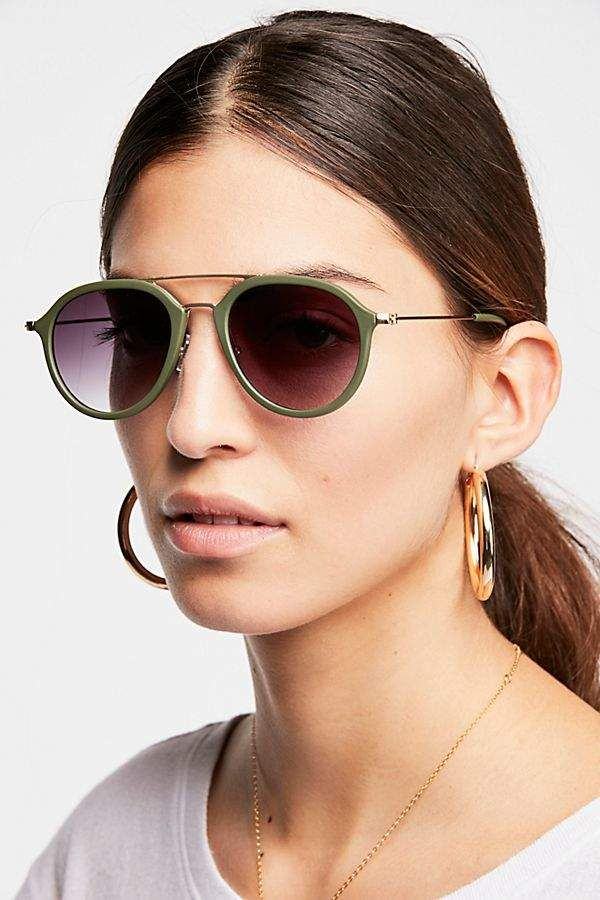 9141dcf1a Rhodes Matte Aviator Spy Eyewear, Rhodes, Sunglasses Accessories, Specs,  Round Sunglasses,