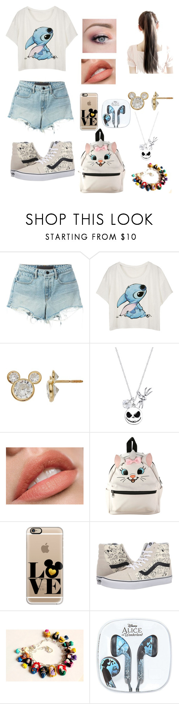 """""""Disney Inspired"""" by meloveyou91 ❤ liked on Polyvore featuring Alexander Wang, Disney, Casetify and Vans"""