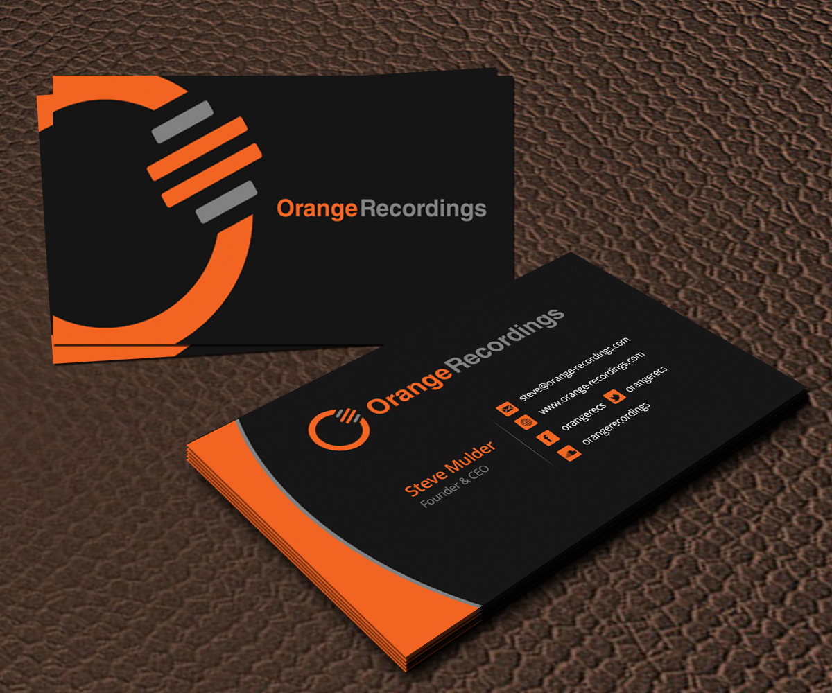 Music Company Business Card | Skay Graphics | Pinterest | Business ...