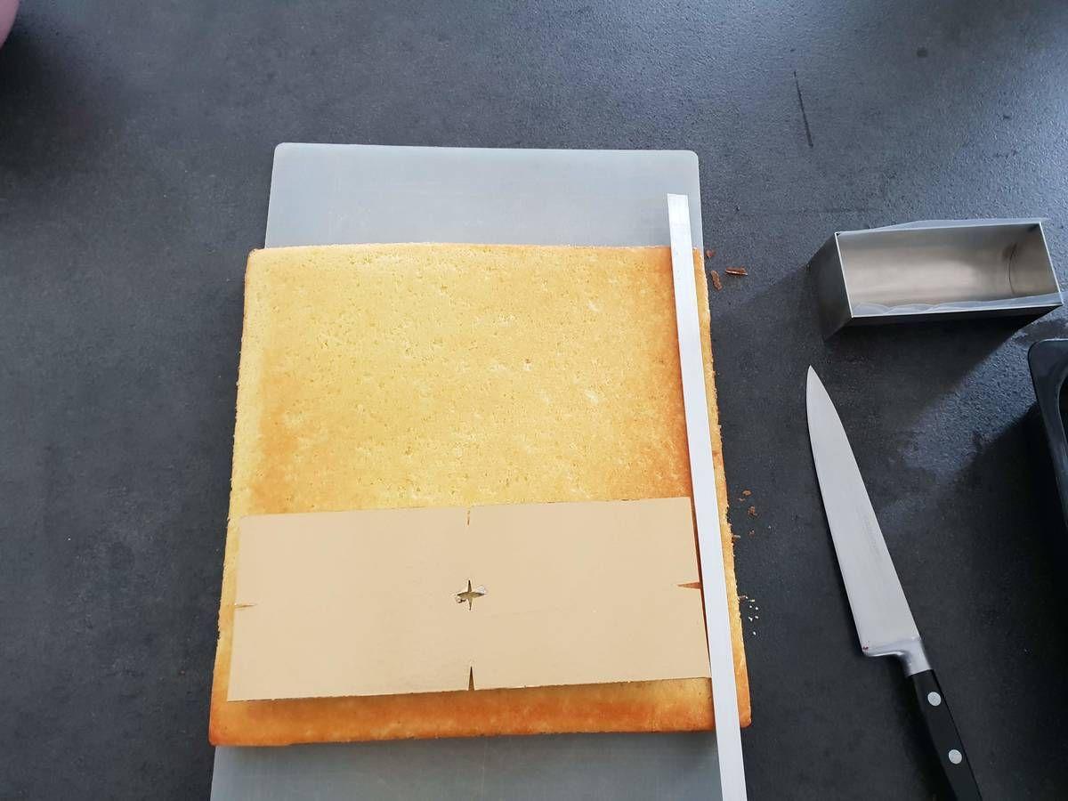 Recette biscuit madeleine pour entremet #biscuitmadeleine