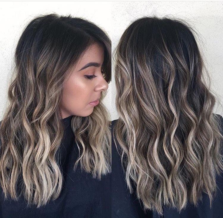 Pin By Blenia Velasco On Hairsyles Brunette Balayage Hair
