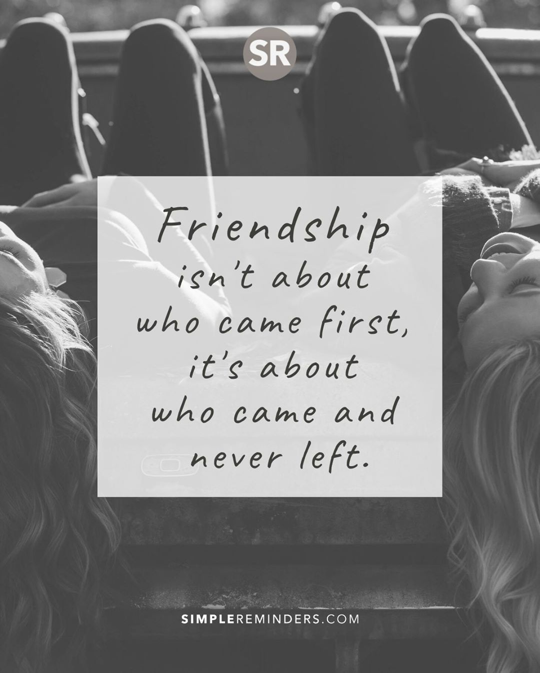 Friendship...... in 2020 First they came, Daily quotes