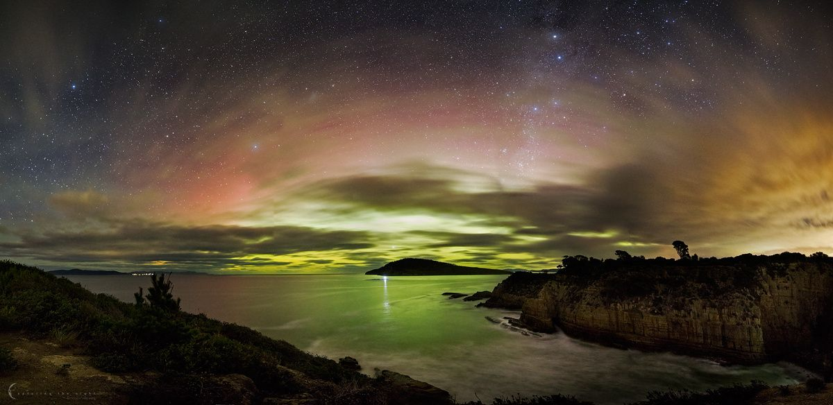Widescreen Aurora by Greg Gibbs on 500px