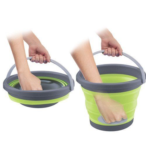 Collapsible Multi Use Silicon Bucket Homemax Bucket Collapsible Bucket Cleaning Tools