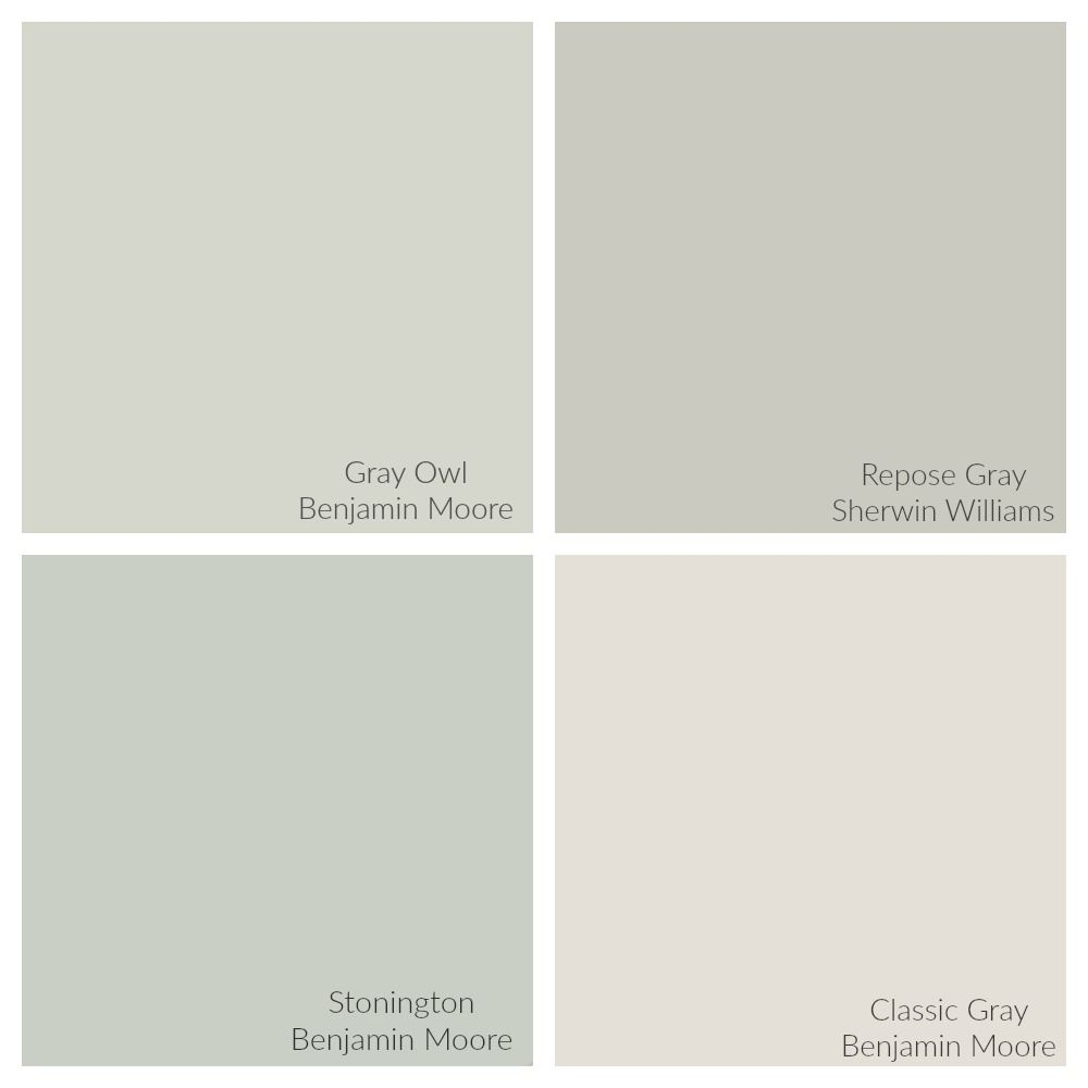 Benjamin Moore Gray Owl Color Spotlight Shared Bath