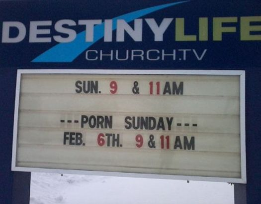 Funny Church Signs: 22 of the Bad & Strange - Team Jimmy Joe