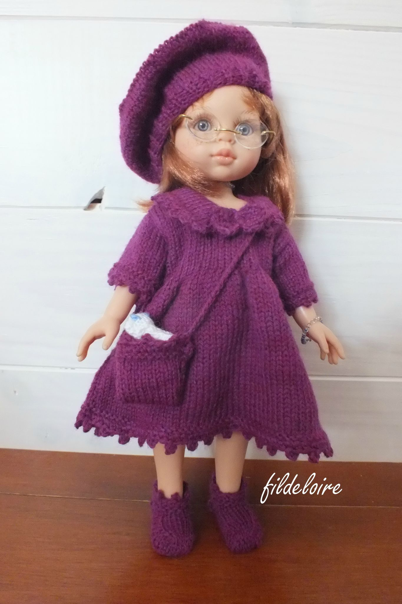 fildeloire: v19 | Dolls Knit Fashion C&P | Pinterest | Puppen
