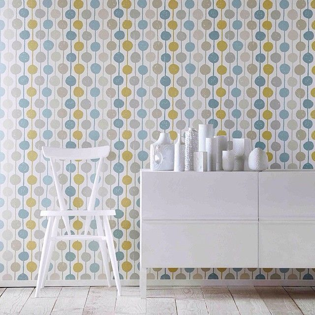 Taimi by Scion – Seaglass, Chalk and Honey – Wallpaper – 111126