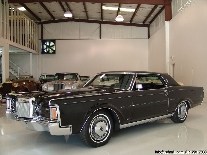 1970 LINCOLN MARK III COUPE ORIGINAL CALIFORNIA CAR JUST IN FROM PALM SPRINGS! ONLY 68,000 ORIGINAL MILES! SPECTACULAR CONDITION THROUGHOUT! FITTED WITH NEARLY EVERY OPTION, INCLUDING, FACTORY AIR CONDITIONING AND MORE! 1970 LINCOLN MARK III...
