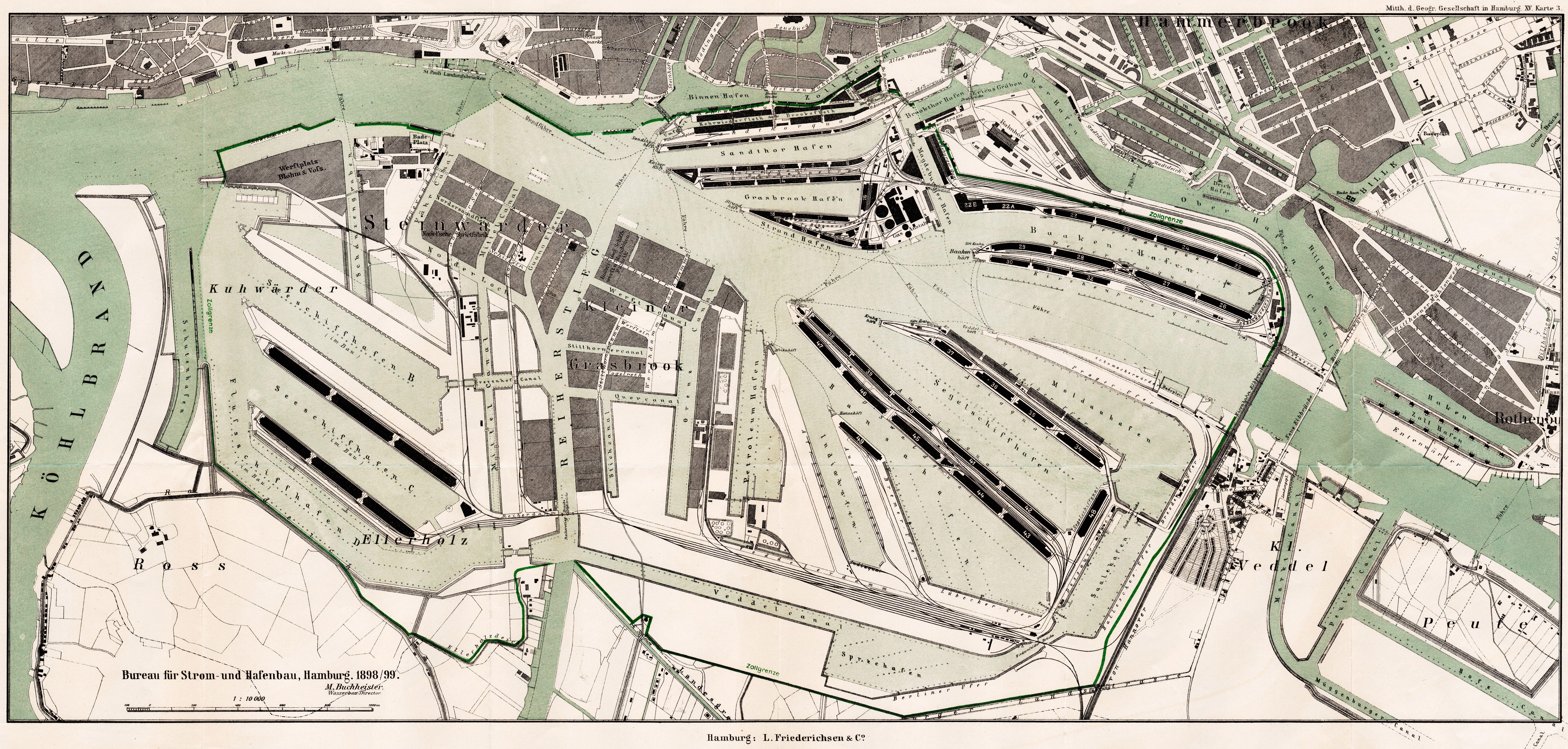 Freihafen 1899 8224 3928 In 2019 Hamburg Schonste Stadt Der