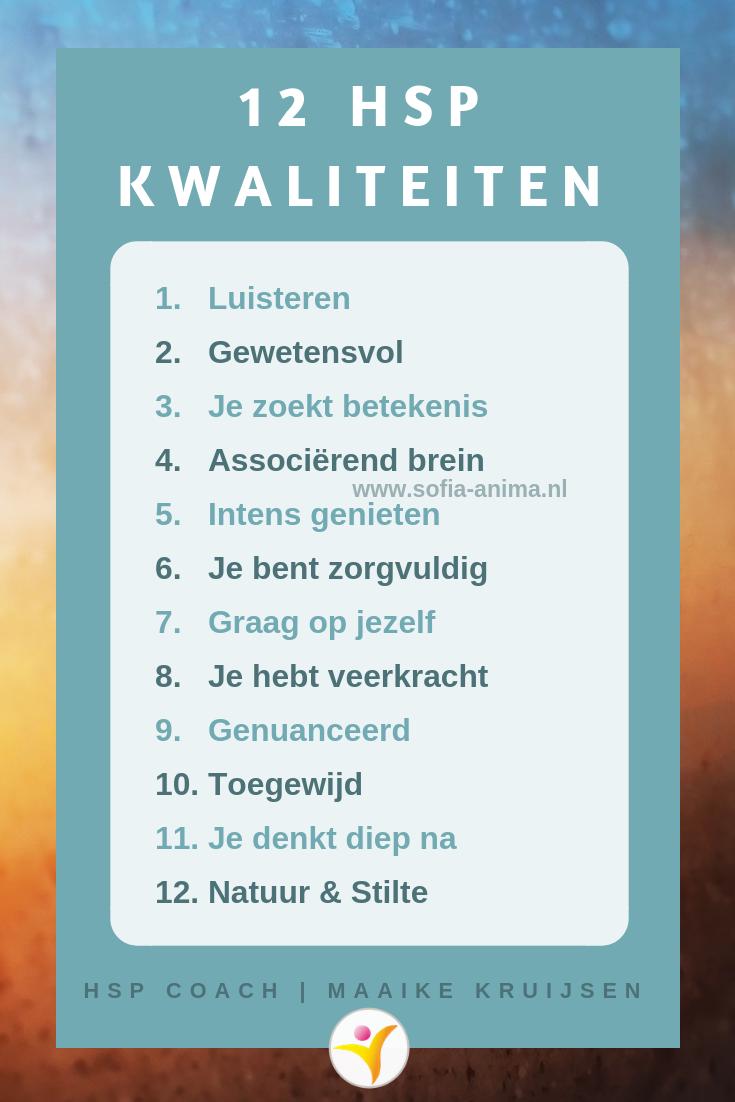 12 Kwaliteiten Van Hoogsensitieve Mensen Self Care Mindfulness