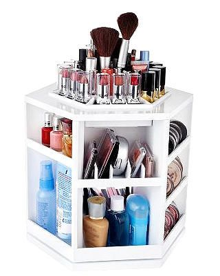 this is such GREAT thing! Like having your own revolving makeup counter display!