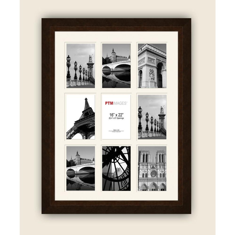 Ptm Images 9 Opening 19 1 2 In X 25 1 2 In Multi Sized White Matted Photo Collage Frame Collage Frames Collage Picture Frames Picture Frames