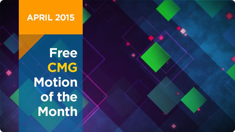 Free CMG Motion Of The Month