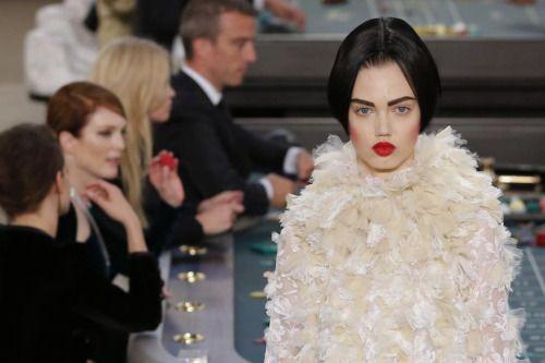 PARIS, France Karl Lagerfeld for Chanel. Paris Haute Couture youthemagazine.tu...