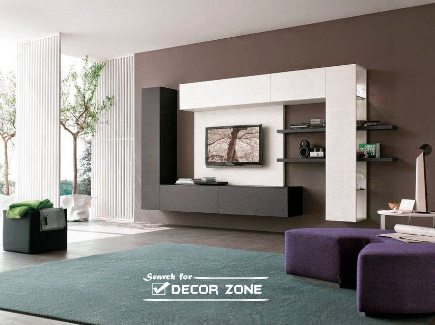 Modern TV units 20 designs and choosing tips TV units