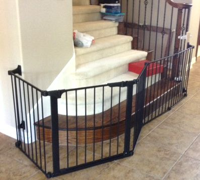 Custom Extra Wide Large Child Baby Safety Gate Installation Baby Safety Gate Baby Gates Diy Baby Gate