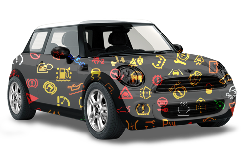 Mini Cool On Your Iphone Mini Cooper Warning Lights Guide To
