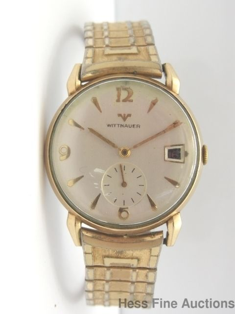 Wittnauer Watch Value >> Vintage Wittnauer C11bg1 Date 17j Mens Wrist Watch