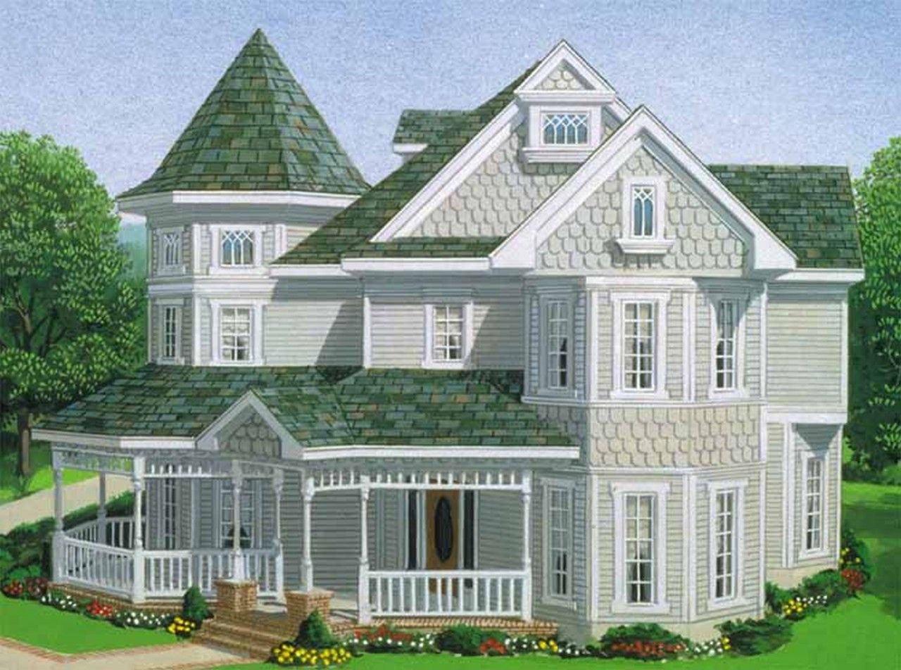 Floor Plans   2 Story Country Home With 4 Bedrooms, 2 Bathrooms And Total  Square Feet
