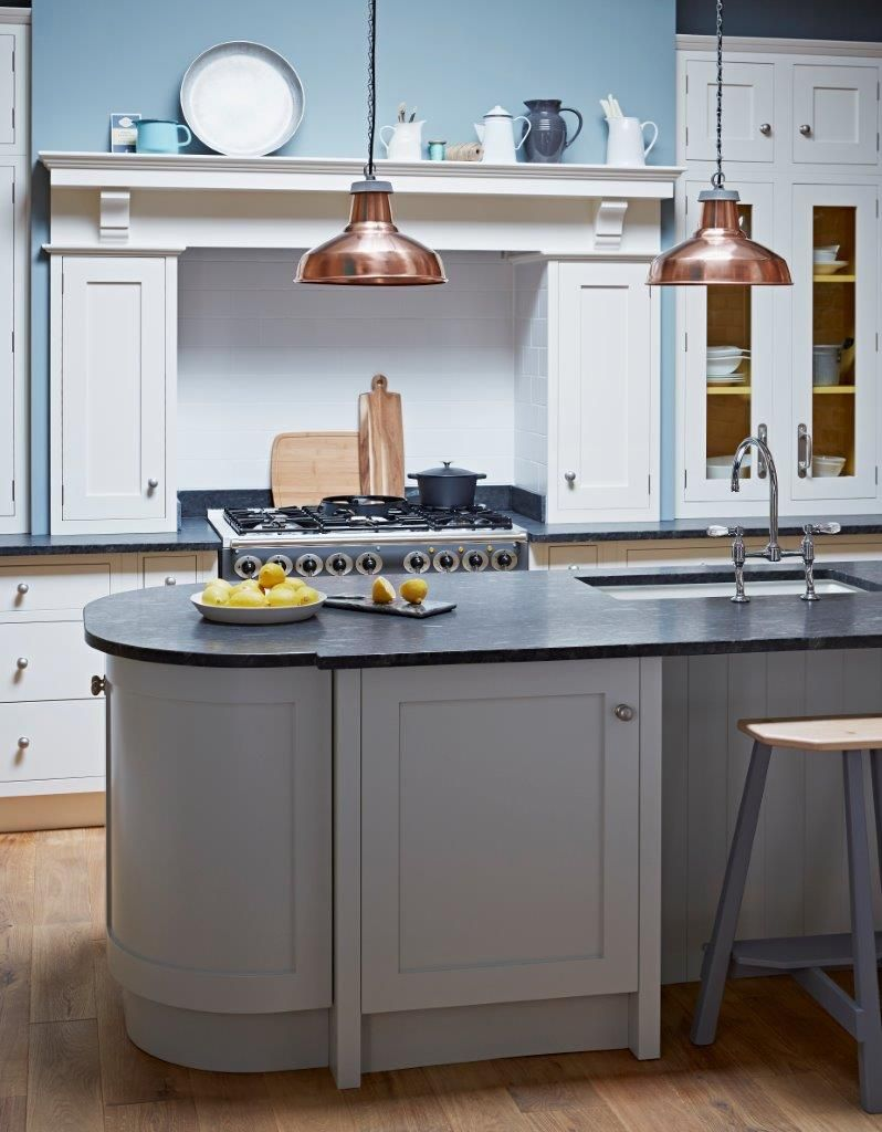 Shaker kitchens blend traditional style with an