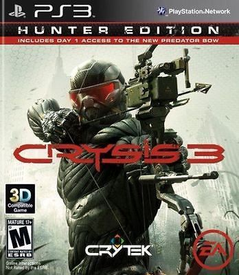 Crysis 3 Hunter Edition Ps3 Game Ps3 Games Playstation Video