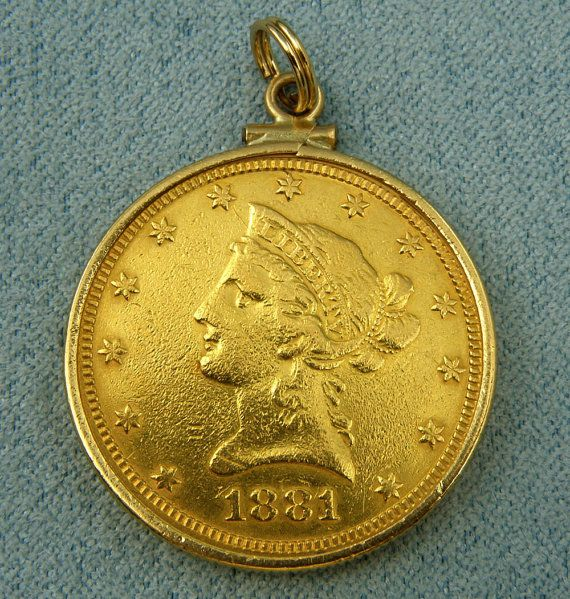 Us 1881 10dollar Gold Eagle Liberty Head By Diamondmastersuscoin 1498 00 Gold Eagle Gold Coins Gold
