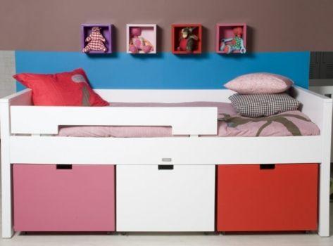 Babykamer Bopita Ideeen : Compactbed uit de mix van bopita meubels voor de