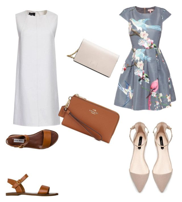 """casual and high class"" by marxendjie on Polyvore featuring Steve Madden, Coach, Ted Baker, Calvin Klein, women's clothing, women, female, woman, misses and juniors"