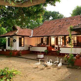 Royal Village Resort Hotels In Kerala Resort In Kerala Kerala Hotels Reservations In Kerala Village House Design Kerala House Design Farmhouse Style House