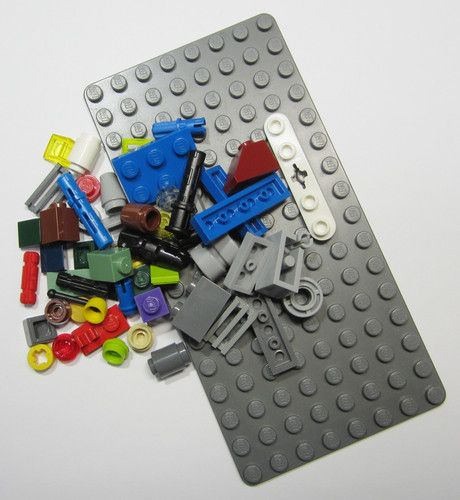 50+ LEGO Original Pieces Bulk Washed and Sanitized NEW (BK16)